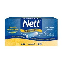 Tampons hygiéniques Nett Procomfort x24