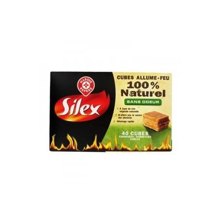 Cubes allume-feu 100% naturel x40