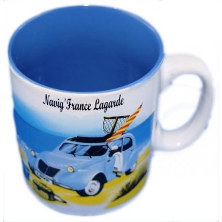 Mug bleu 2CV