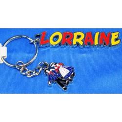 Porte-clés Lorraine - ancre