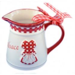Pichet ruban Alsace (grand modèle)