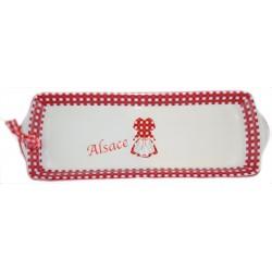 Plat ruban Alsace (petit modèle)