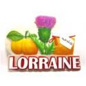 Magnet résine Lorraine Chardon