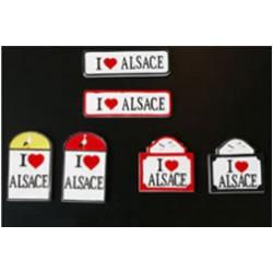 Magnet I love Alsace