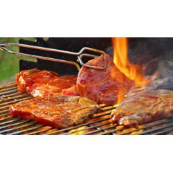 Côtes de porc marinées avec os 1 kg