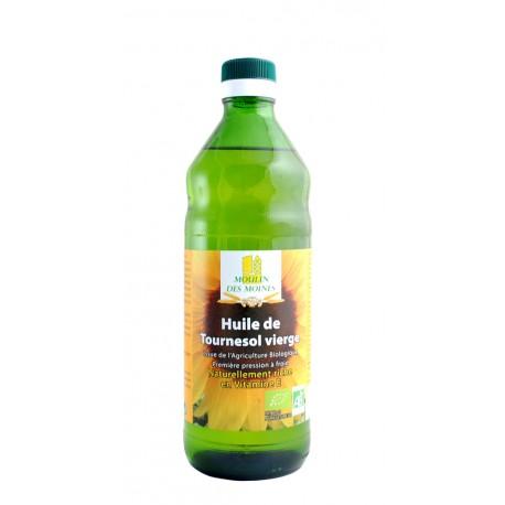 Nativ-Sonnenblümenöl, kaltgepresst