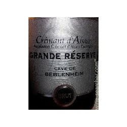 """Crémant d'Alsace brut """"Grande réserve"""""""