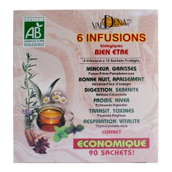 Infusion pack 6 variétés
