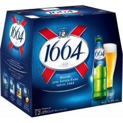 Bière 1664 5.50% vol 12 x 0.25L