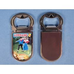 Magnet décapsuleur couple Lorraine