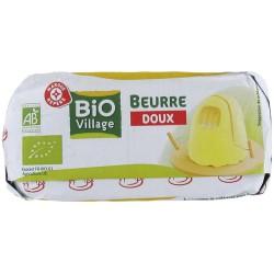 Beurre bio moulé doux 250g