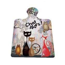Katze Keramikplatte