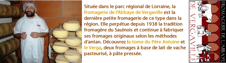 Fromagerie de l'Abbaye de Vergaville